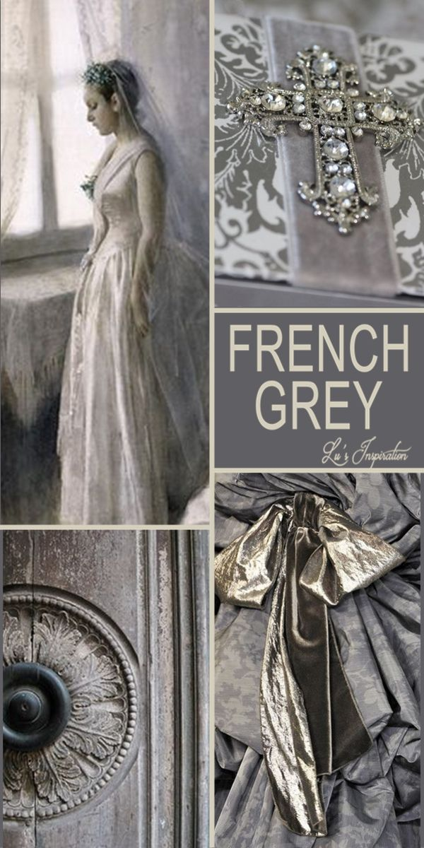 "Hello Ladies.  Well we have pinned French Blue and French Pink so next, Tonight and Tommorow let's pin "" FRENCH GREY "" Thank you and Happy Pinning. ❤"