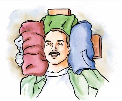 #18 (Required) -- Explain the first aid procedures for back and neck injuries.