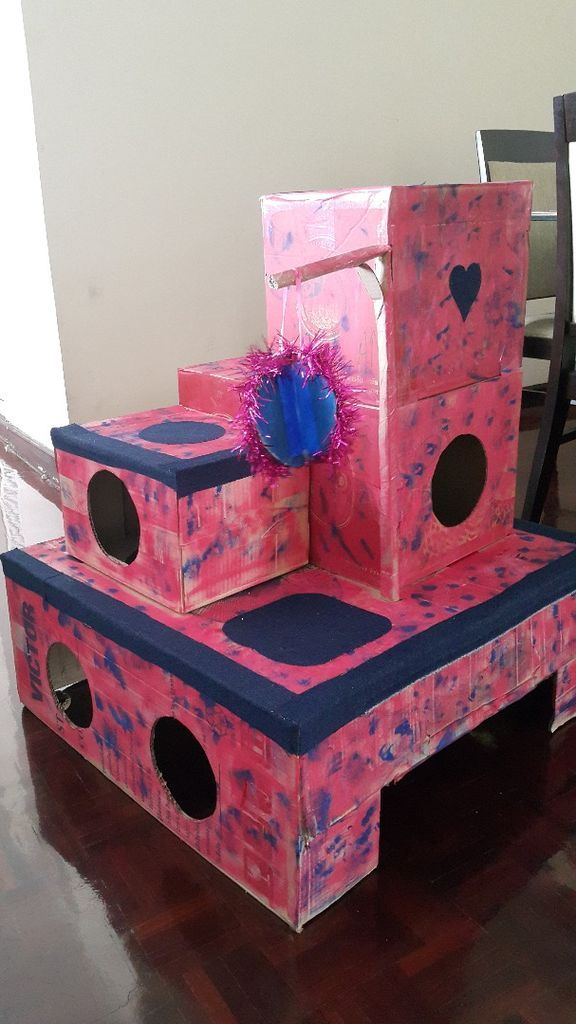 best 25 cat castle ideas on pinterest diy cat toys diy cat tree and cat room. Black Bedroom Furniture Sets. Home Design Ideas