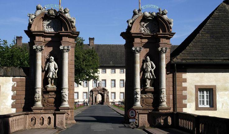 Höxter – das Westwerk von Schloss Corvey