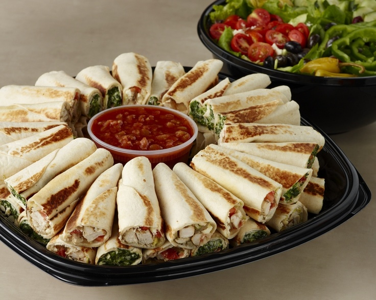 Spinach Chicken Rollups Are The Perfect Gameday Grub I Order These Every Time I Go To Zoes Catering Food Fast Healthy Meals Catering Menu