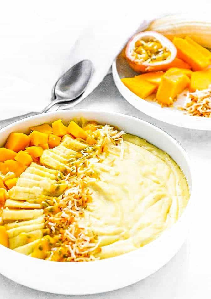 Jamaican Cornmeal Porridge Bowl