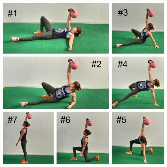 10 Best Kettlebell Exercises For Strong And Sculpted Abs: 17 Best Images About Working On My Fitness On Pinterest