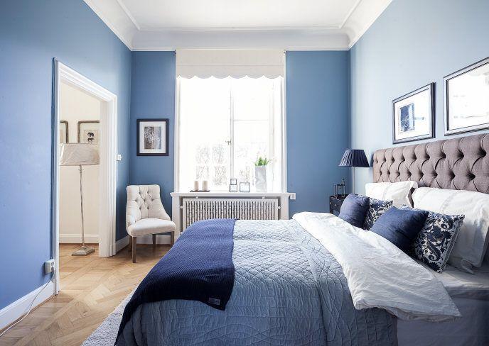 Bildresultat för blått sovrum
