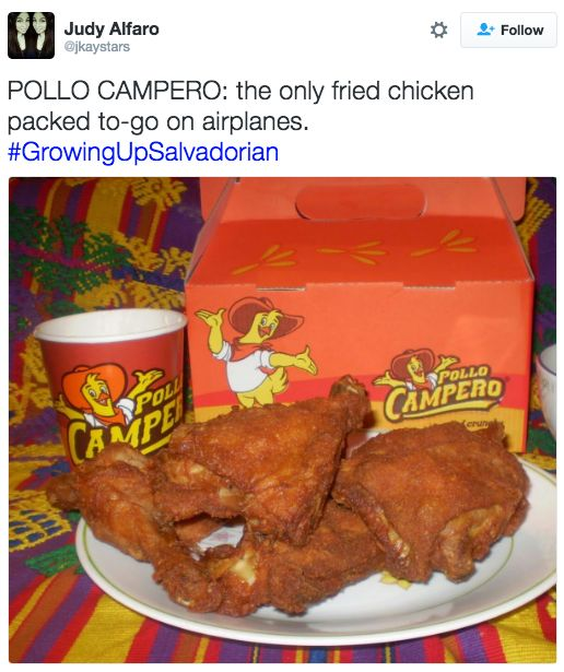 Before you knew about KFC and Popeyes, there was Pollo Campero: | 19 Food Tweets That Salvadorans Will Understand