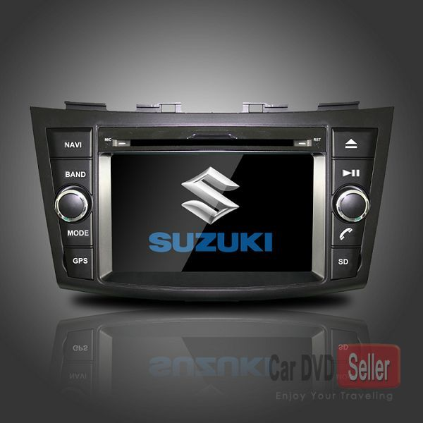Head Unit Auto Stereo Car DVD Player GPS Navigation for Suzuki Swift with Bluetooth TV Radio Car DVD Player for Suzuki Swift 2011-2012 with GPS Bluetooth TV Radio [CS-S012] - US$302.40 : GPS navigation system