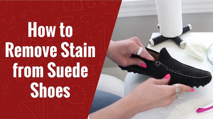 How to Remove Stain from Suede Shoes