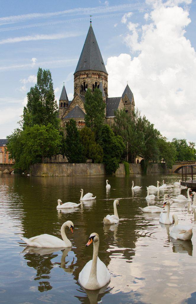 Metz, Lorraine, France by Thea Teijgeler
