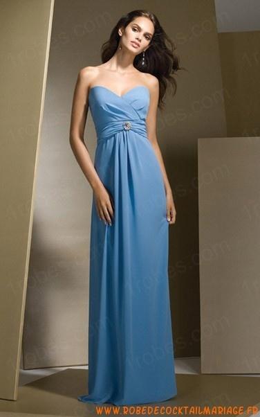 Les 25 meilleures id es de la cat gorie robes de demoiselle d 39 honneur bleues sur pinterest - Robe demoiselle d honneur bleu marine ...