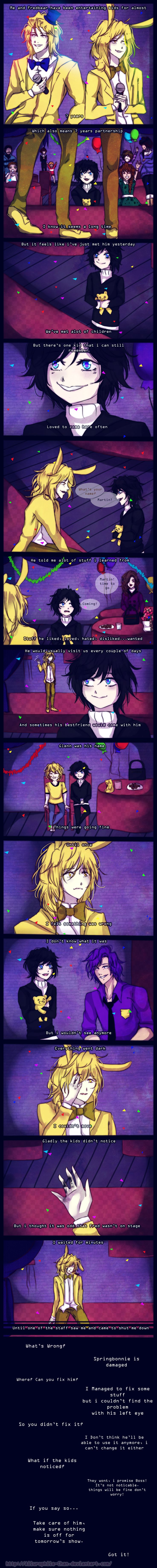 .:Lost [FNaF AU Comic] Page 2 :. by Ailurophile-Chan