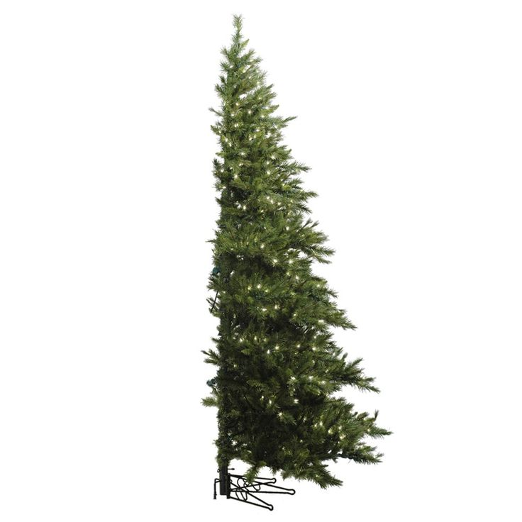 Vickerman A803980 9-ft x 70-in Westbrook Pine Half Christmas Tree | ATG Stores