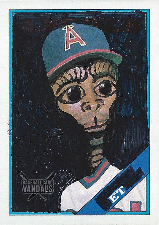 baseballcardvandals:  Peace out, terrestrial bitches.
