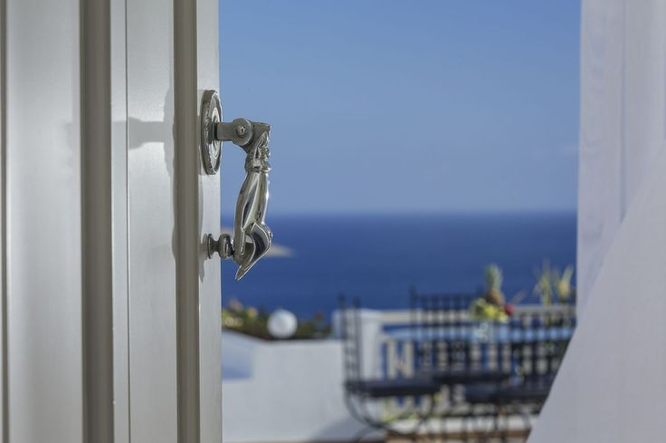 The door to your private paradise! #EloundaGulfVillas #Crete