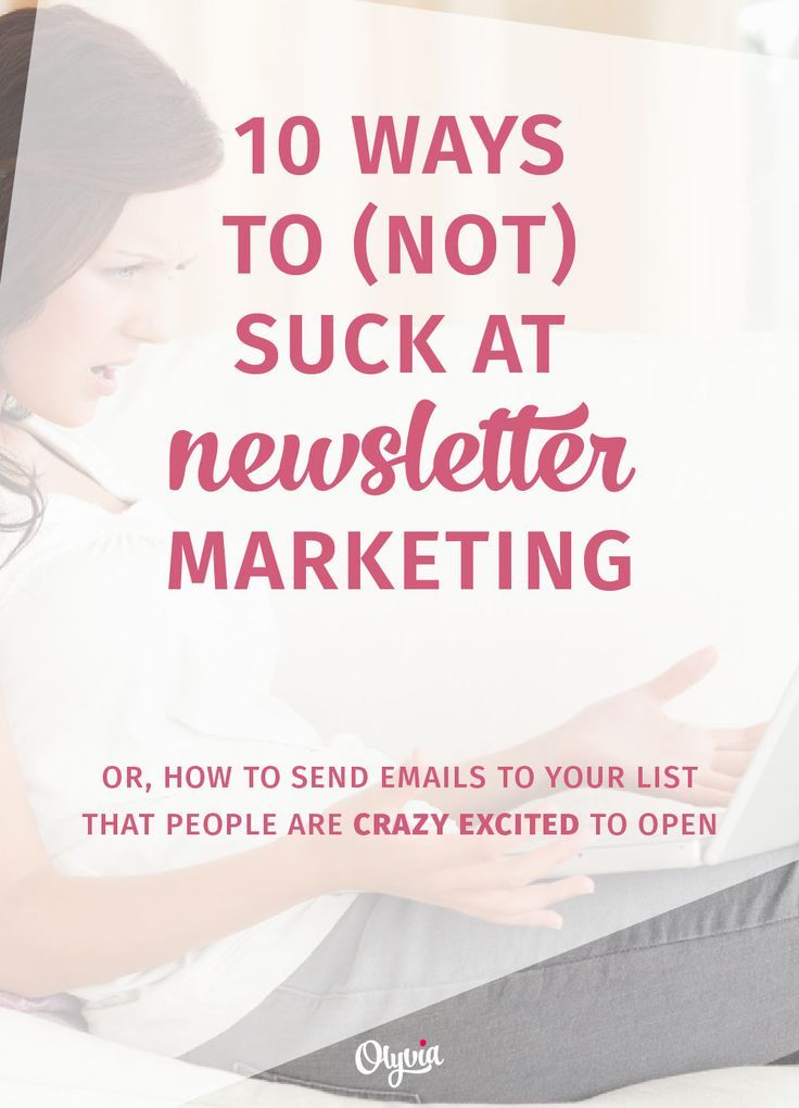 10 Ways to (Not) Suck at Email Marketing