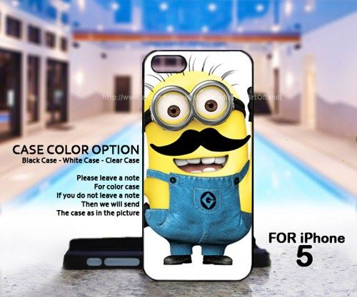 mustache Despicable me - For IPhone 5 Black Case Cover