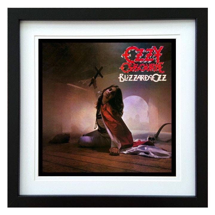 Ozzy Osbourne | Blizzard Of Ozz Album | ArtRockStore