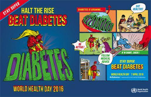 World Health Day 2016: Beat Diabetes