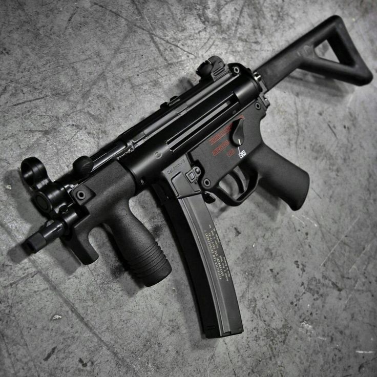 H&K's MP-5                                                                                                                                                                                 More