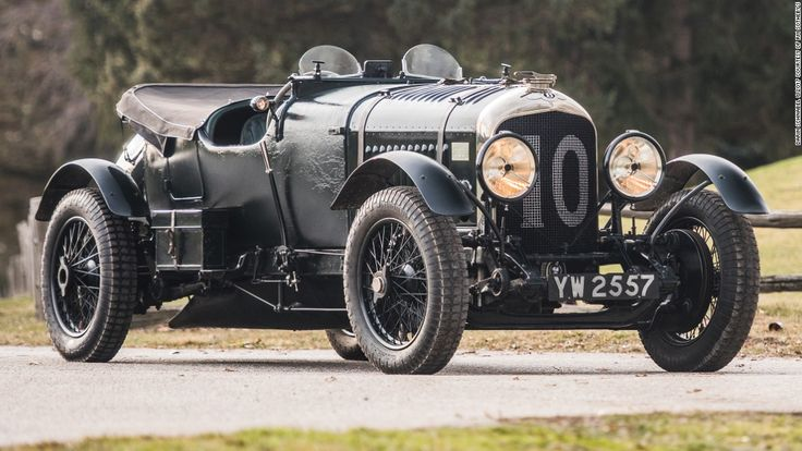 """A prewar Bentley """"Bobtail"""" racer is up for auction with a price of $6.5 million $7.5 million, showing how buoyant the market for classic cars has become."""