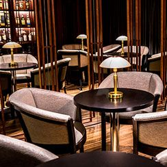 Whisky & Cigar Lounge at Quale Restaurant in Lodz, Poland