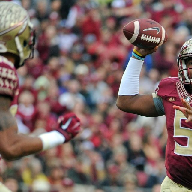 Jamies Winston spoke with reporters Thursday at the NFL scouting combine, the most anticipated interview of the week. So what did the former Florida State QB say?