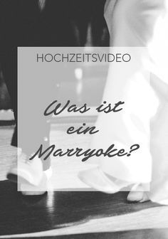 Ihr wolltet schon immer der Star in eurem eigenen Musikvideo sein? Dann ist ein Marryoke für euch vielleicht genau das richtige. Marryoke ist DER Trend aus den USA bzw. Großbritannien. #hochzeit #heiraten #wedding #weddings #love #inspiration #hochzeitsspiele #spiele #lustig #kreativ #hochzeitsideen #marryoke #hochzeitsvideo