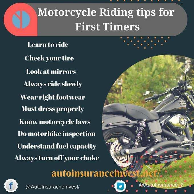 10 Best Motorbike Riding Tips For First Timers Car Insurance