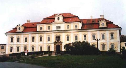 zámek a kostel rychnov nad kněžnou / santini