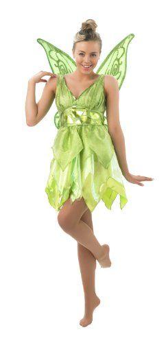 Disney Damen Kostum Fee Tinkerbell Als Elfe Karneval Fasching Gr M