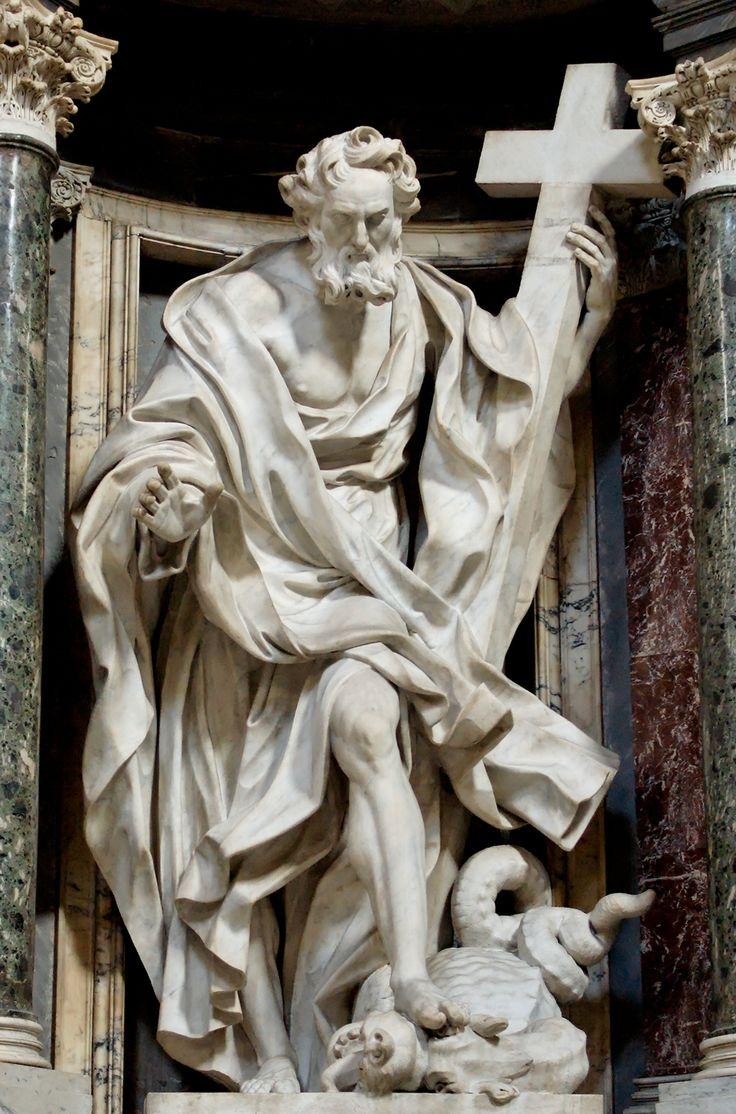 Philip by Giuseppe Mazzuoli (1705-11) in the Archbasilica of St. John Lateran