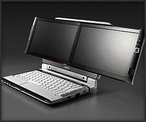 onkyo laptop. onkyo dual screen dx laptop