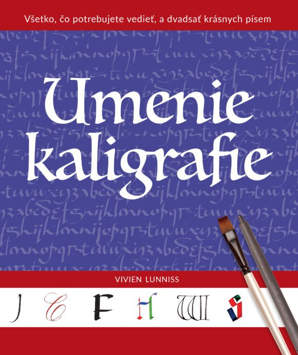 Knižný tip: Naučte sa Umenie kaligrafie