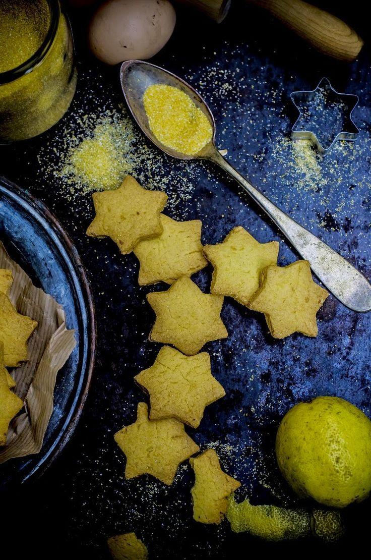 Biscotti di polenta e limone. Fotogrammi di Zucchero