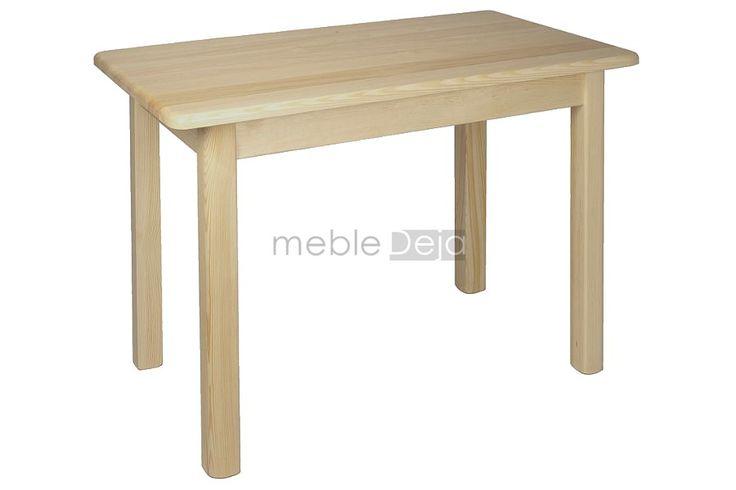 Stół drewniany sosnowy[77] RÓŻNE WYMIARY Stoły dostępne w przeróżnych wariantach i w pełnej gamie kolorystycznej