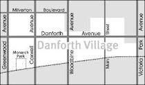 DANFORTH VILLAGE MAP - VERONICA KEY