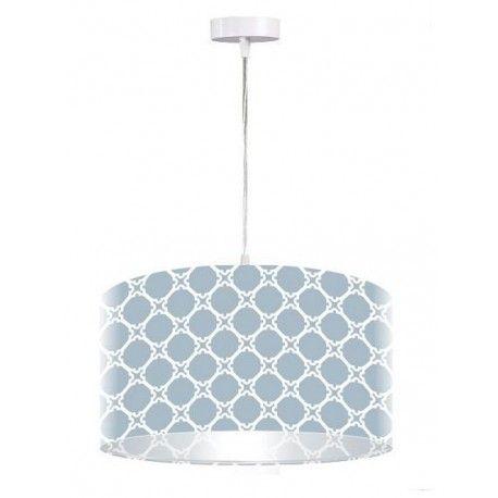 DOM.PL™ - Lampa wisząca Niebieski dekor - Oswietlenie.dom.pl