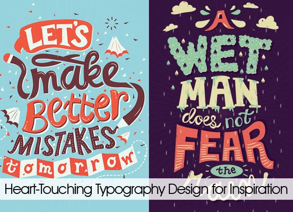 28+ Heart-Touching Typography Designs for Inspiration