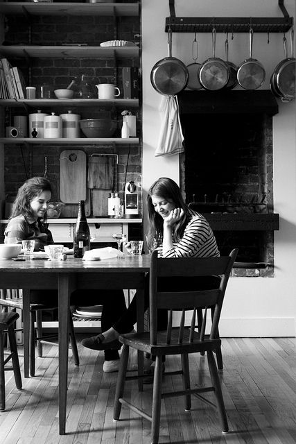 mealtime with friends   photo by Nicole Franzen
