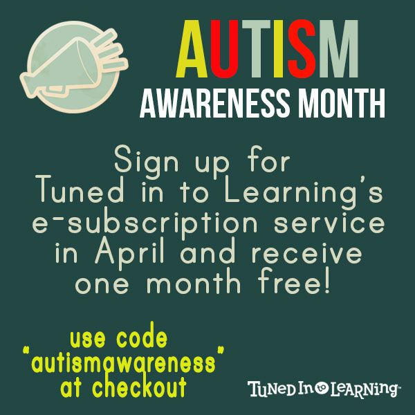 9 best autism awareness images on pinterest autism awareness enter coupon code autismawareness at checkout on any of our three subscription packages fandeluxe Choice Image
