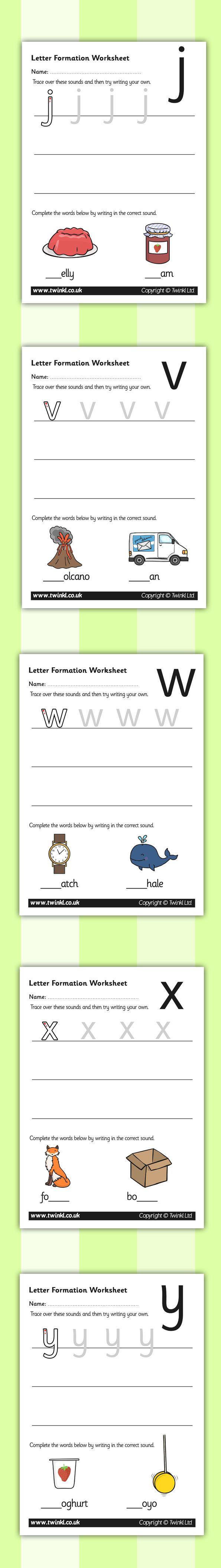 Letter Formation Worksheets Printable Cursive Letter