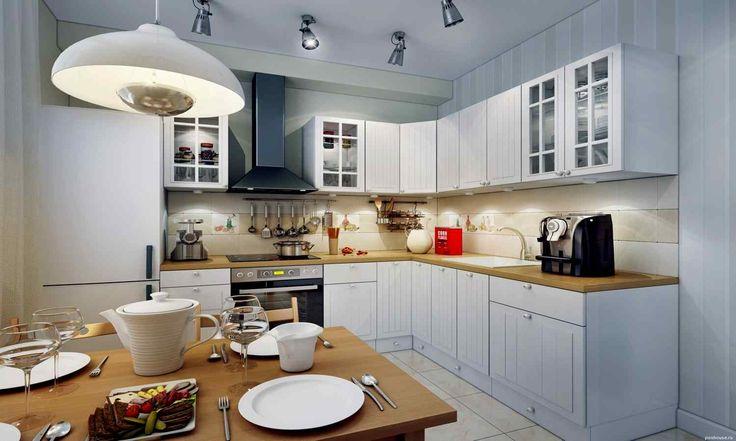 правильное освещение для небольшой кухни