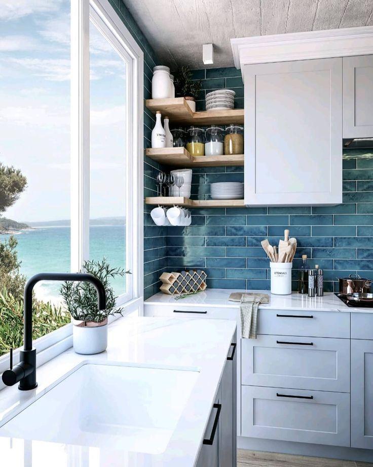 Decobella New Metro Subway Tile Collection In 2020 Turquoise Kitchen Decor Kitchen Decor Tuscan Kitchen
