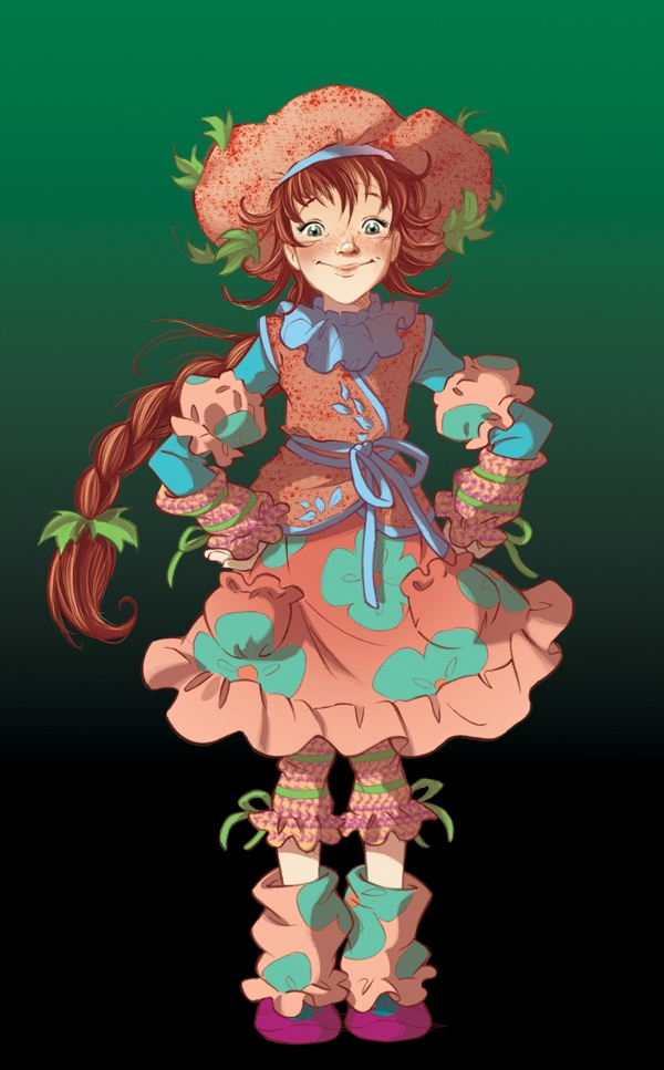Fairy Oak-Flox Pollimon: Flox is a slightly anomalous Witch of the Dark because while she possesses the power to destroy, she loves to create. Moreover she has a sunny nature, sweet, naïve, and generous to a fault.