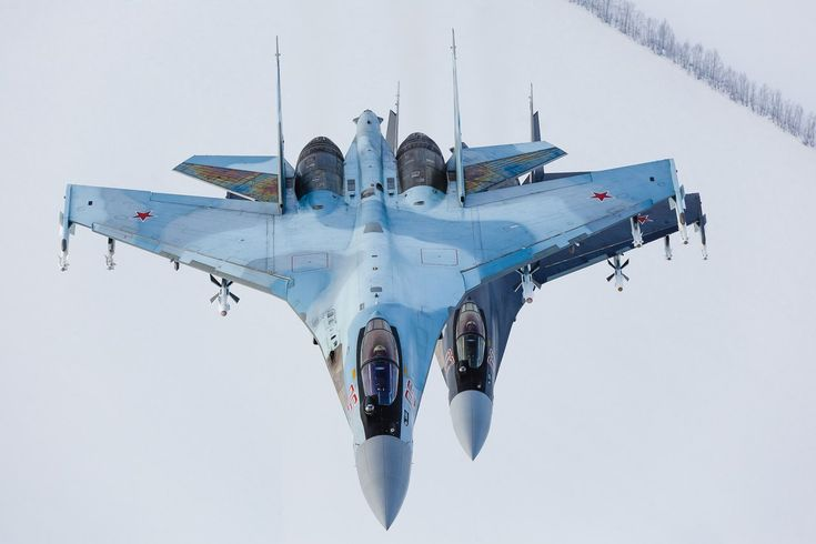 "Russian Air Force Sukhoi Su-35S ""Flanker-Es"""