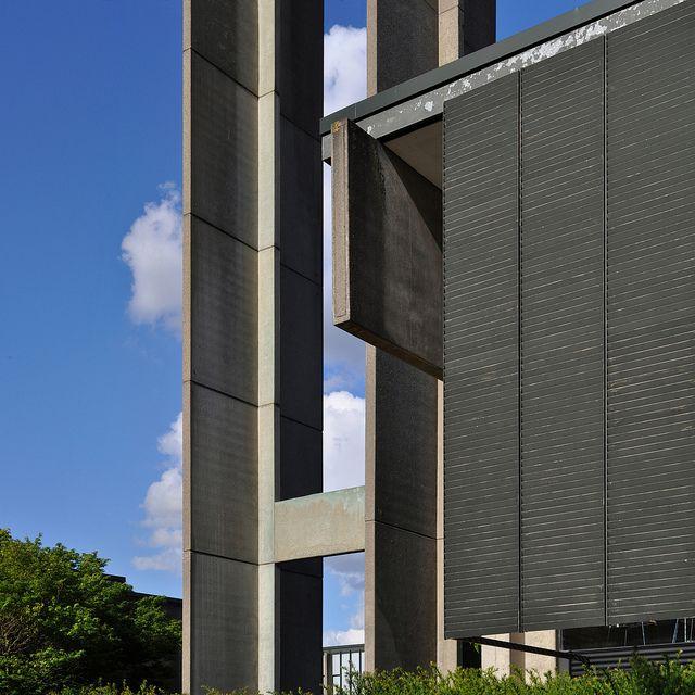arne jacobsen, st. catherine's college, oxford 10 by seier+seier, via Flickr