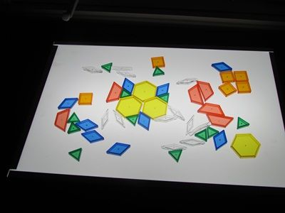 another site with great light table ideas. I really have to bump this up on my daycare wish list.