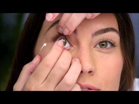 #Kontaktlinsen richtig einsetzen - so einfach geht's