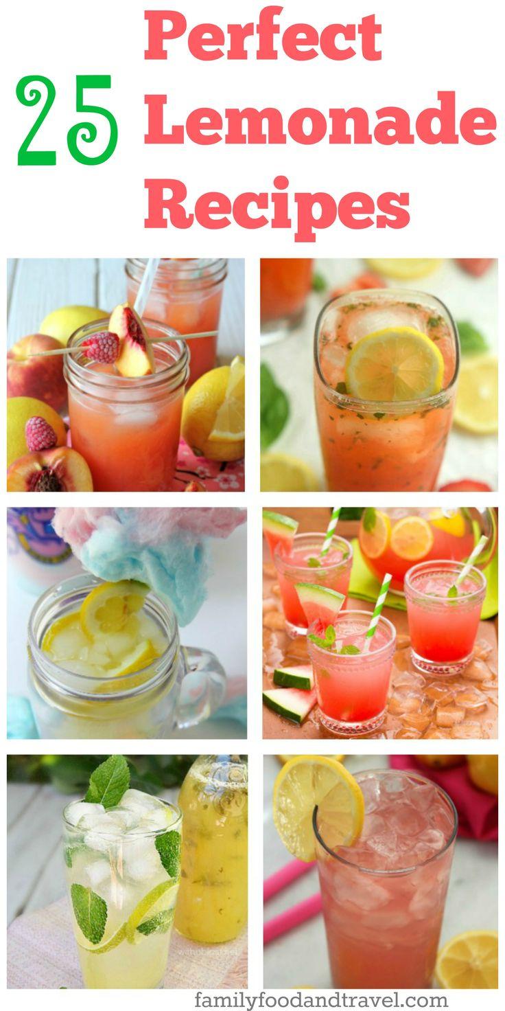 25 perfect lemonade recipes perfect lemonade best lemonade lemonade ...