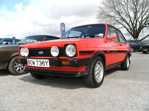 MK1 Ford Fiesta XR2. these were the day, hots hatches. they don't make 'em like they used to...