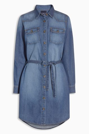 If you're going to be rocking denim this summer, our shirt dress is the ideal way!